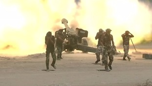 Iraqi forces have launched an assault on the Iraq city of Falluja