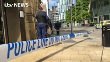 One man critical after two stabbed in Deansgate brawl