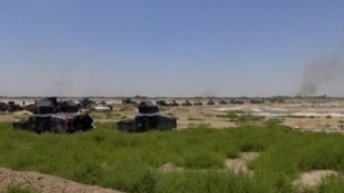 The Iraqi army has launch a massive assault on the city of Falluja