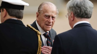 The Duke of Edinburgh attends an event at Horse Guards Parade, London, in May