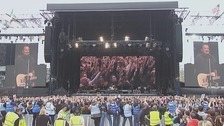 Thousands of fans packed Croke Park to see the Boss.