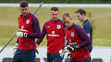 Joe Hart and Fraser Forster