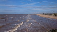 tide and shore Crosby beach