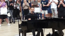 Take That's Gary Barlow surprises Bristol shoppers