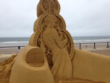 Redcar hosts international sand sculpture event