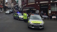 Police respond to reports of an unexploded WWII bomb.