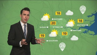 Weather: Dull start with sunny spells with a high of 20C.