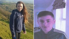 Demi-Leigh Burn and Cameron Falkingham-Smith were last seen in Ledbury at around 2.30pm on Sunday