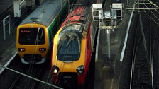 Problems on the trains northbound between Birmingham New Street and Stafford
