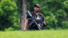 White House lockdown over suspicious package