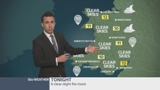 Wales weather: A clear night for most