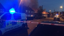 Firefighters tackle blaze in Bramley