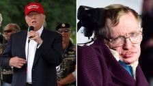 Stephen Hawking: 'I can't explain Trump popularity'