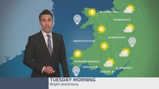 Wales weather: Bright and breezy