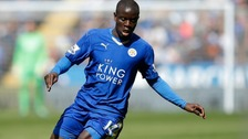 N'Golo Kante happy to stay at Leicester City for now