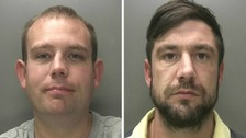 Two jailed for 19 store raids in less than two months