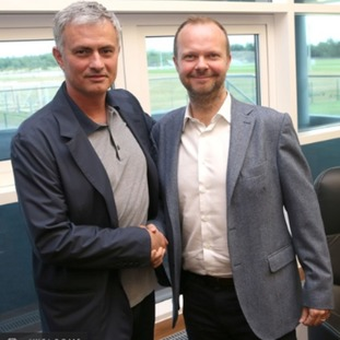 Jose Mourinho and Ed Woodward.