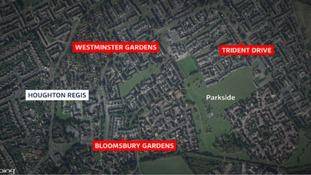 Man exposed himself three times in Houghton Regis