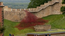 Thousands see poppies at Lincoln Castle