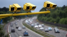 Fixed speed cameras