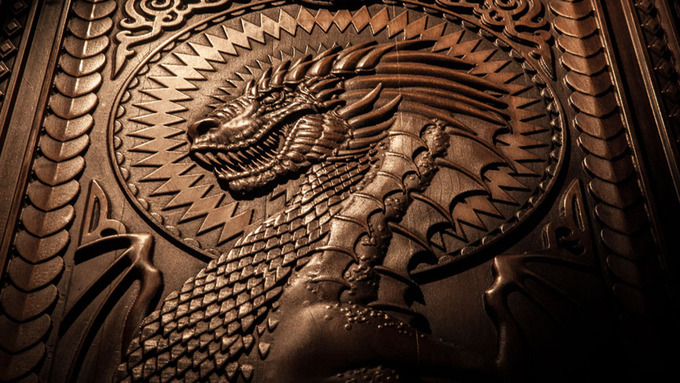 The sixth u0027Door of Thronesu0027 depicts Targaryens and dragons. & Latest Game of Thrones door unveiled in Ballintoy | UTV - ITV News