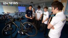 Bikes recycled by youngsters for charity cycle