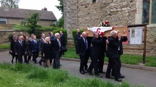 Roger Millward funeral