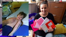 Poorly 4-year-old receives 1000 cards from well-wishers