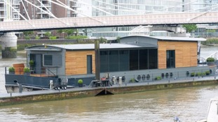 Who'd live in a boat like this? Luxury houseboat goes on sale for £2.25m