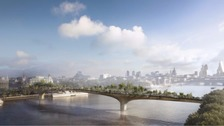 Sadiq Khan backs calls for new probe 'Garden Bridge'