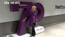 Heathrow celebrates 70th birthday