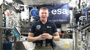 Tim Peake hopes his space trip will inspire a generation