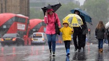UK hit by month's worth of rain - and there's more on the way