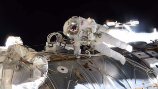 Tim Peake became the first Briton to conduct a spacewalk