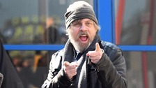 Stars Wars actor Mark Hamill, pictured in Belfast.