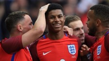 Marcus Rashford named in England Euros squad