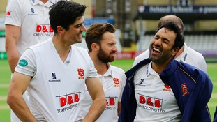 Essex's Bopara proud of record-breaker Cook after he reaches landmark achievement