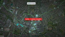 'Sudden death' investigated in Wrexham