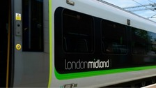 Delays on London Midland Trains until 10am