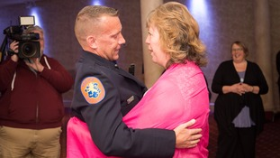 9/11 cop who suffered leukaemia saved by British woman