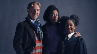 Harry Potter And The Cursed Child stage actors unveiled in pictures as Ron and Hermione