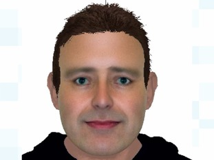 An E-fit likeness of a man police would like to trace following a serious sexual assault in Ipswich.
