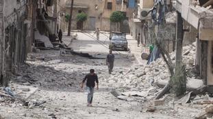 UK calls for 'last resort' Syrian humanitarian aid drops
