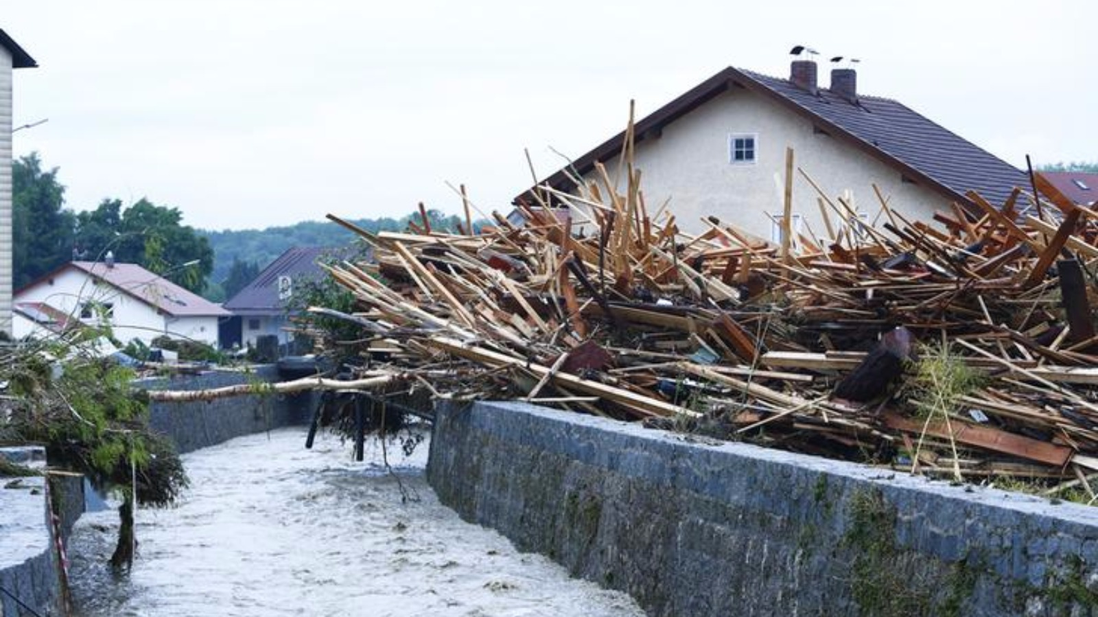 several dead as flash floods hit france  germany and