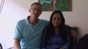 Couple finally take real son home after El Salvador  hospital swap