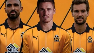 Cambridge United unveil new kit and announce signing of Mingoia