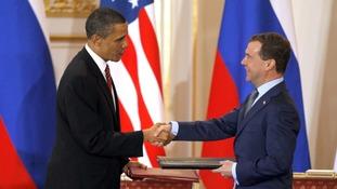 treaty handshake