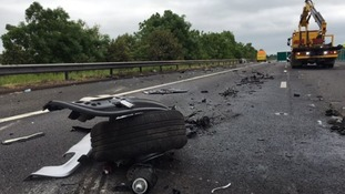 Police urge driver who fled fatal M5 crash to come forward