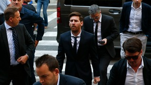 Barcelona star Messi on trial over alleged tax fraud