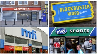 Seven shops that vanished from our high-street